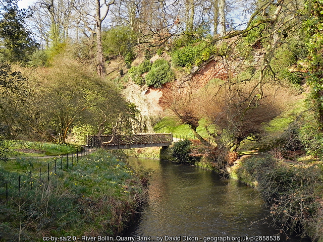 Bridge in Lower Garden Quarry Bank Mill geograph 2858538 by David Dixon