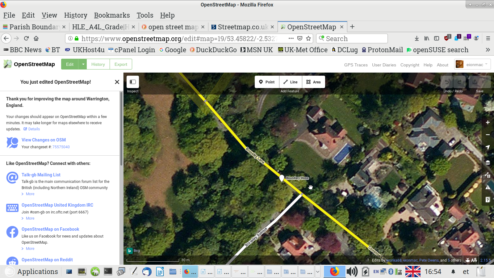 OpenStreet Map edited for boundary stone by EM Screenshot 2019 10 11 16 54 23