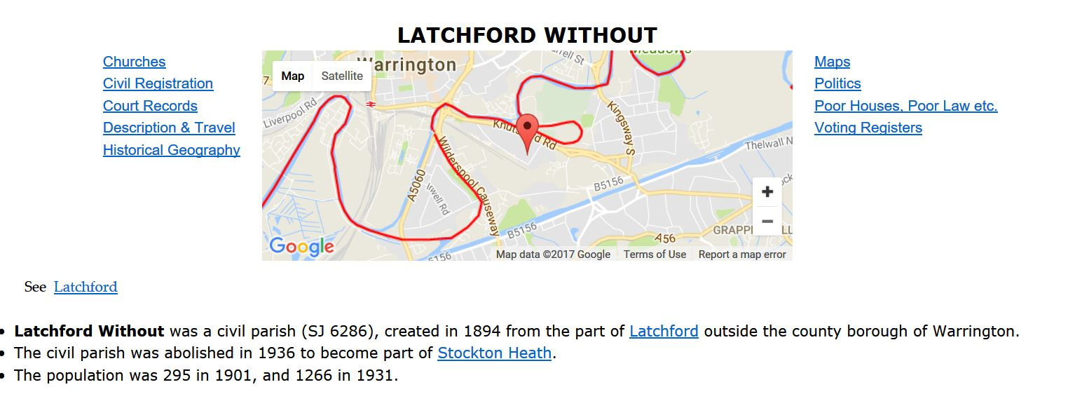 Latchford without streetmapentry Capture