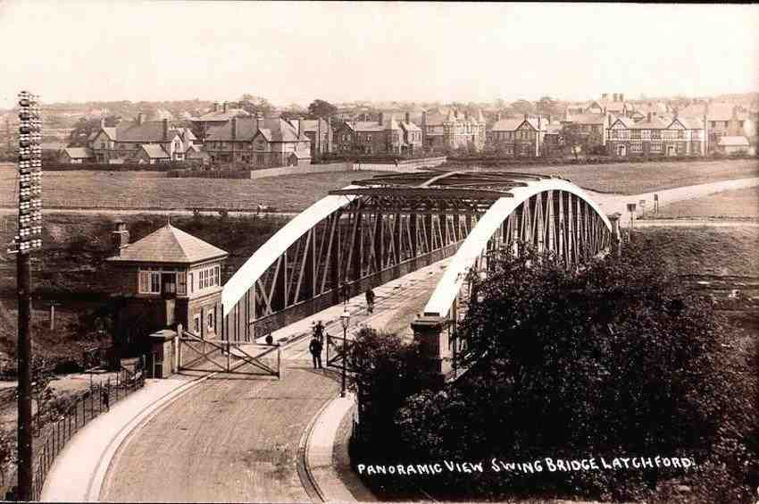 ex B Worrall View from Railway Bridge c1900