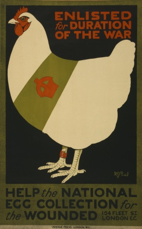Egg by post to field hospitals poster. 5154 p