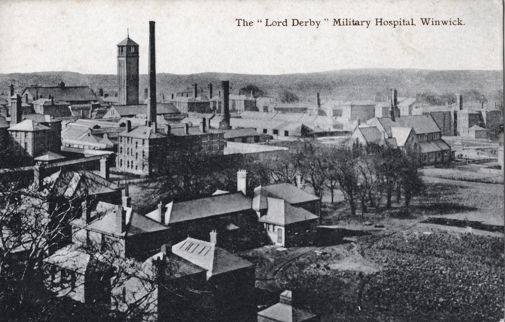 The Lord Derby Military Hospital Winwich
