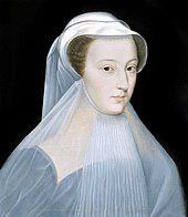 Mary Queen of Scots in deuil blanc 1559