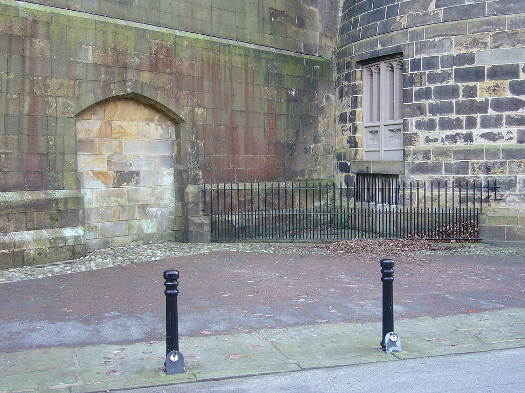 Lancaster Castle Hanging Corner by nabokov English wikipedia 1024px HangingCorner CC by SA