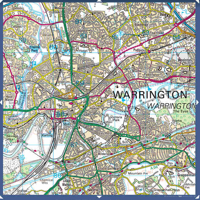 Modern Warrington open street maps JPG