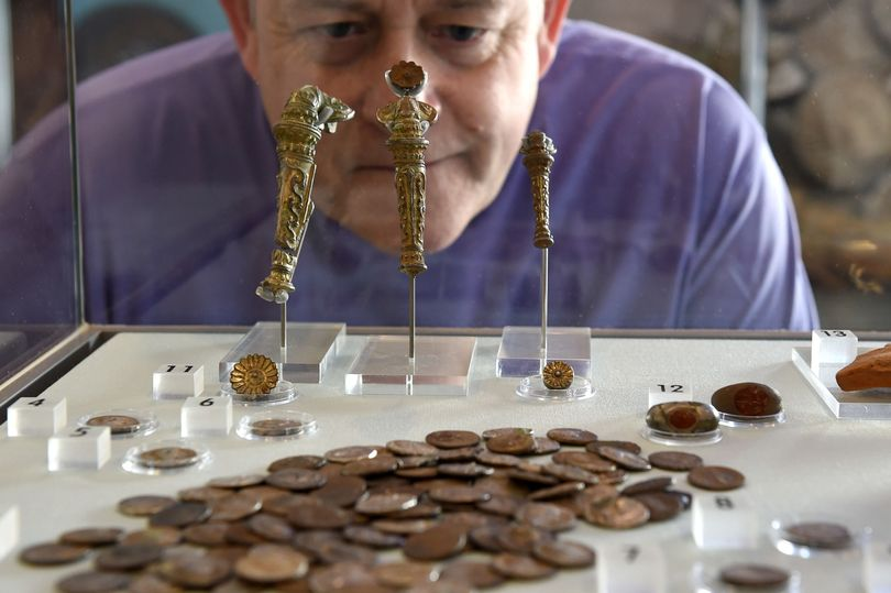 Image from Liverpool Echo of Alan Bates and theKnutsford Hoard JS82759983