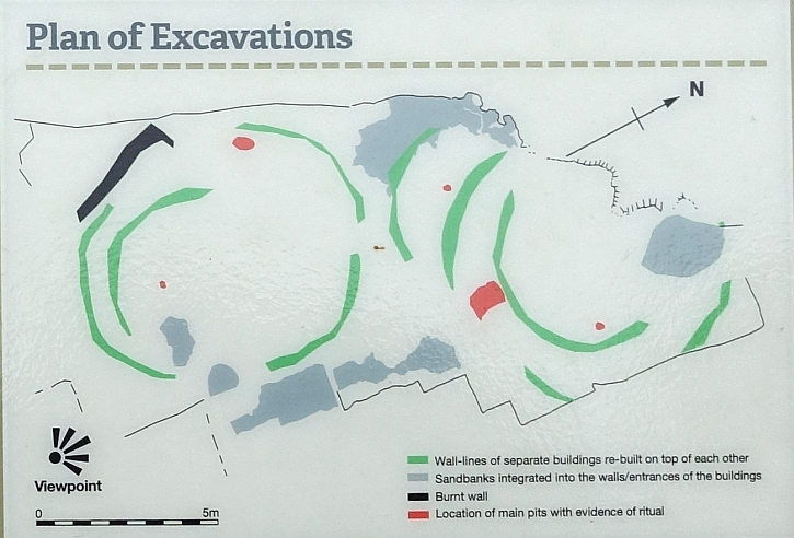 lunt meadows plan of excavations