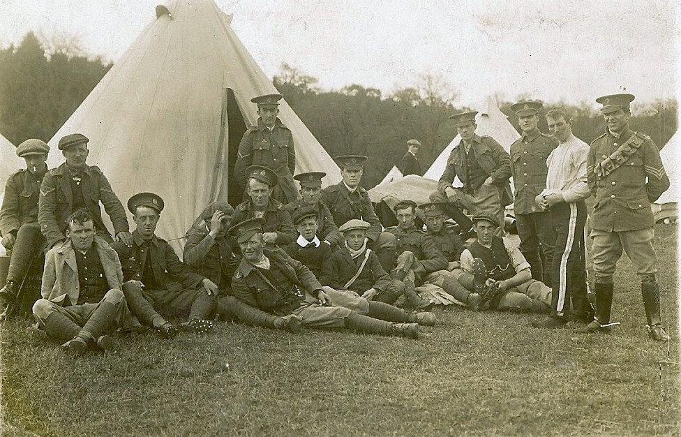 Typical camp 1913 some in uniform some in work clothes 5th Border Regiment 24585589356 91b9431626 b