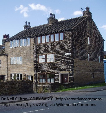 Attributation included Weavers cottages Wardle