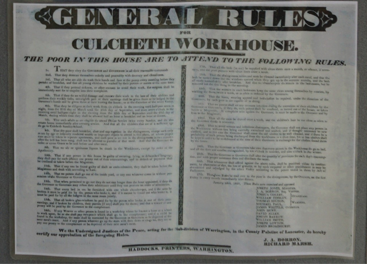 101 1 workhouse rules